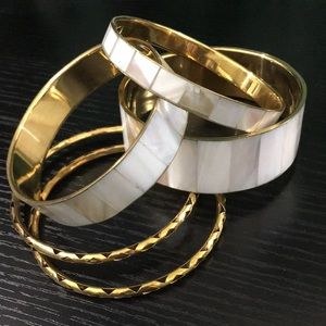 Mother of Pearl Bangle Set